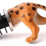 Leopard wine stopper photo