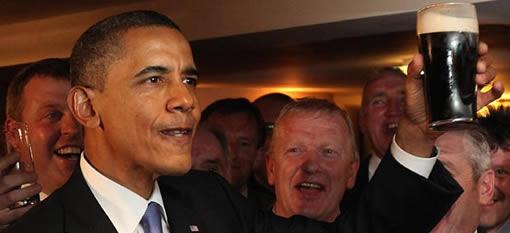 Barack The Beer Fan photo