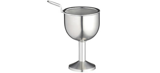 Bar Craft Deluxe Stainless Steel Wine Decanting Funnel photo