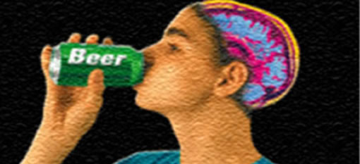 Can drinking alcohol help your brain function? photo