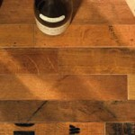 Vintage Wine Barrel Flooring photo