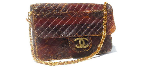 Chanel handbag made from biltong photo