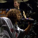 Pearl Jam shares the wine and rocks the crowd photo