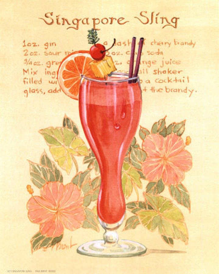 The Birth of the Singapore Sling photo