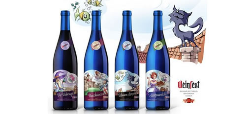 Packaging Spotlight: Weinfest wine labels photo
