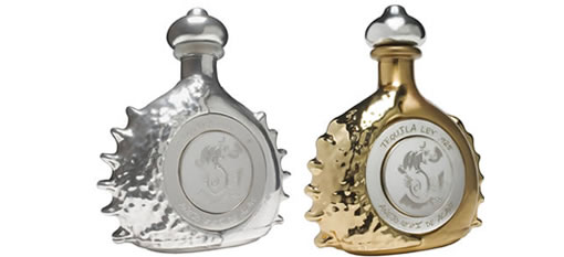 Platinum and White Gold Tequila photo