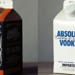 Hard Liquor Looks Truly Odd Packaged in Milk Cartons photo