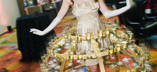 A Cool New Way to Serve Champagne photo