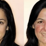 What just TWO glasses of wine a day can do to your face in ten years photo