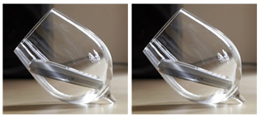 How to amplify your cell phone with a wine glass photo