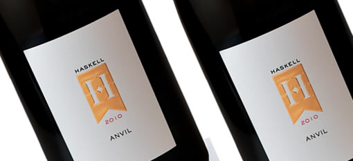 Worthwhile wines to try: Haskell Anvil 2010 photo