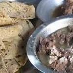 Weird Food: Stuffed Camel from Bedouin Desert photo