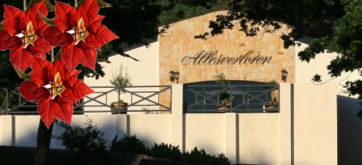 Be Merry with Food, Wine and Chores this Christmas at Allesverloren photo