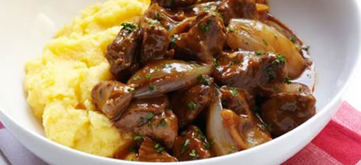 Tonight we are eating: Sensational Lamb Stew with Caramelized Shallots photo