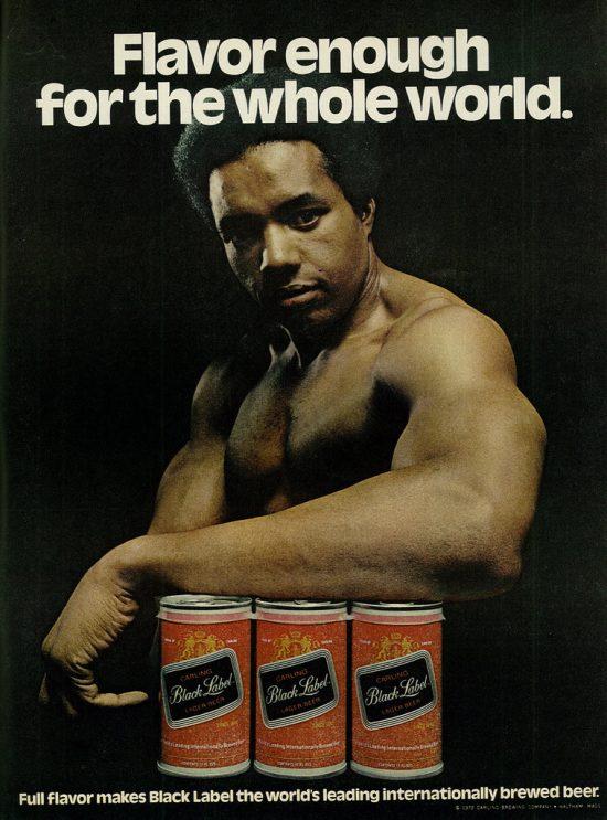 Vintage Black Label Beer Posters - Drinksfeed-4236