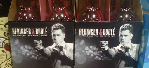 Michael Bublé and White Zinfandel Team Up to Ravage the Suburbs photo