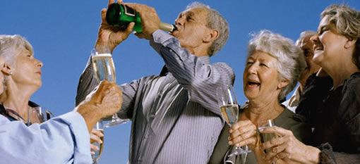 Senior Citizens Binge Drink Most Often photo