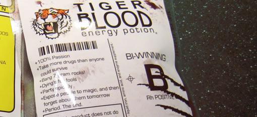 Tiger Blood Energy Potion photo