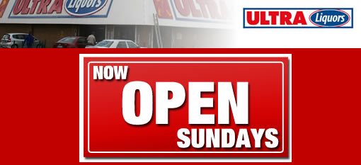 Ultra Liquors stores that are open on Sundays photo