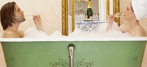 Hotel Launches Champagne Bath photo