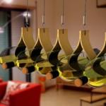 The hanging wine rack photo