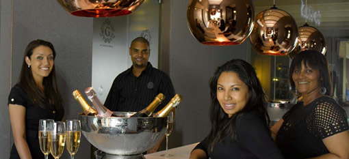 Gorgeous bubbly bar by Graham Beck opens at Steenberg estate photo