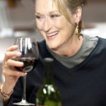 A glass of wine with Meryl Streep photo