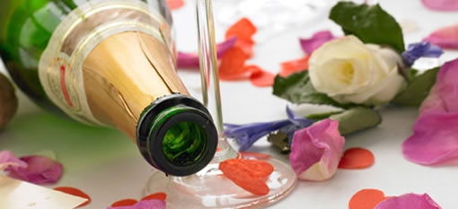 How to use Roses in Champagne photo