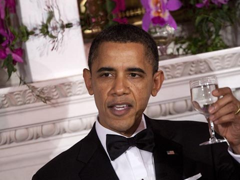 For Obama, even wine lists are state secrets photo