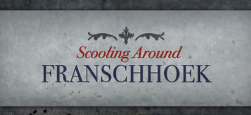 Scooting Around Franschhoek photo