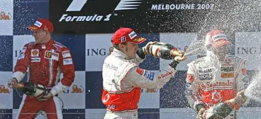 The famous habit of spraying Champagne was a result of an accident photo