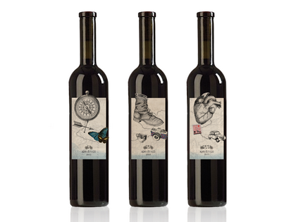 Adriatico Wine Label photo