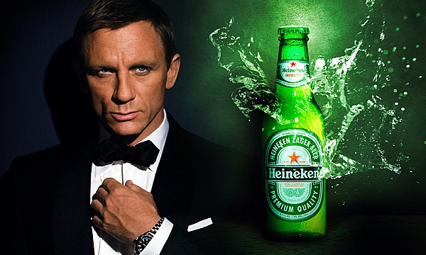 James Bond moves from Martinis and Champagne to Beer photo