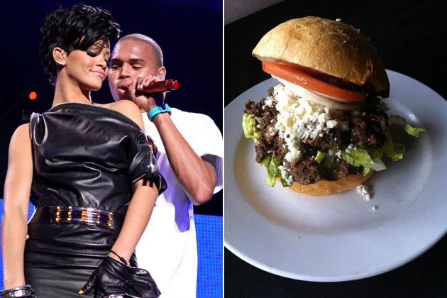 The Chris Brown sandwich photo