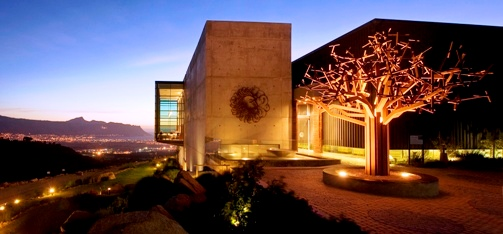 Start the year on top of the world at Waterkloof Estate's restaurant in the sky photo