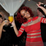 Rihanna's drunken antics photo
