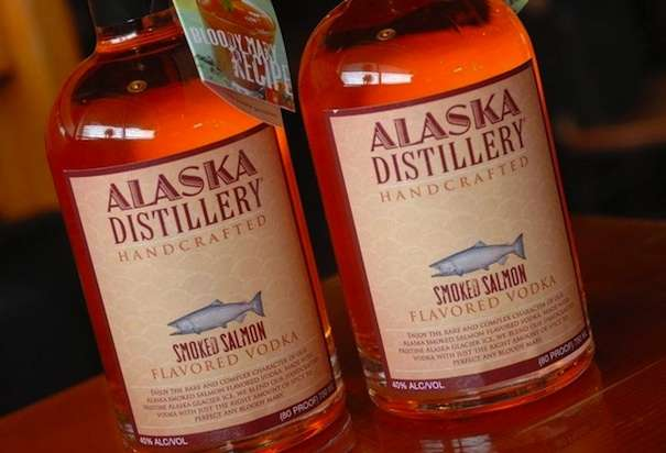 Smoked Salmon Vodka – There's Something Fishy About This Drink photo