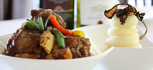 Pinotage Oxtail with Almond Mashed Potatoes photo