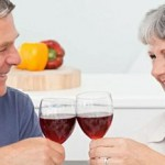 Large glass of wine can raise stroke risk for the over-50s photo