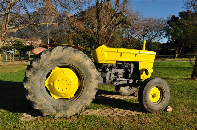 Fairview Tractor Brings Many Smiles to Rosebank Community photo