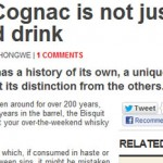 No, Cognac is not Whisky photo