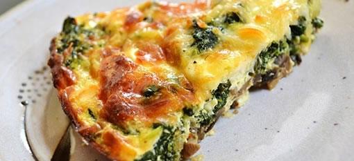 Veggie Quiche with Potato Crust - Anel Grobler