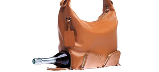 A handbag that puts wine first photo