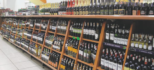 South African wine choices in Kenya photo