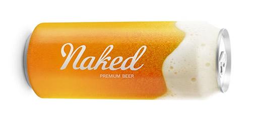 Packaging Spotlight: Naked Beer photo