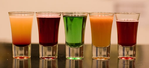 3 Shots to drink over dinner photo