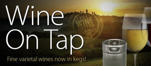 Wine in a Keg is the New Green Trend photo