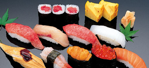 sush Foods that taste better when paired with a cold beer