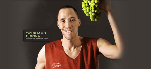 Basketball star Tayshaun Prince to be featured on a wine bottle photo