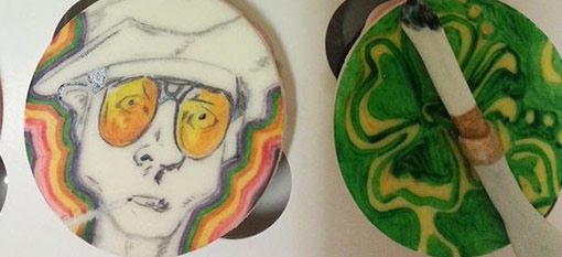 Fear and Loathing in Las Vegas Cupcakes photo